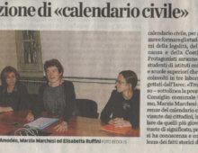 <br>Il calendario civile. Proposte di cittadinanza attiva<br>