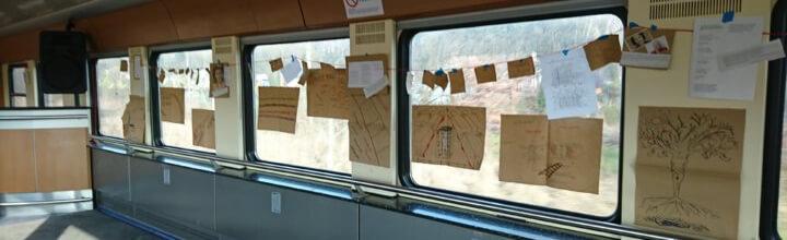 """L'istituto a bordo (con laboratori e un caffè letterario) di """"In treno per la Memoria"""", verso Auschwitz"""